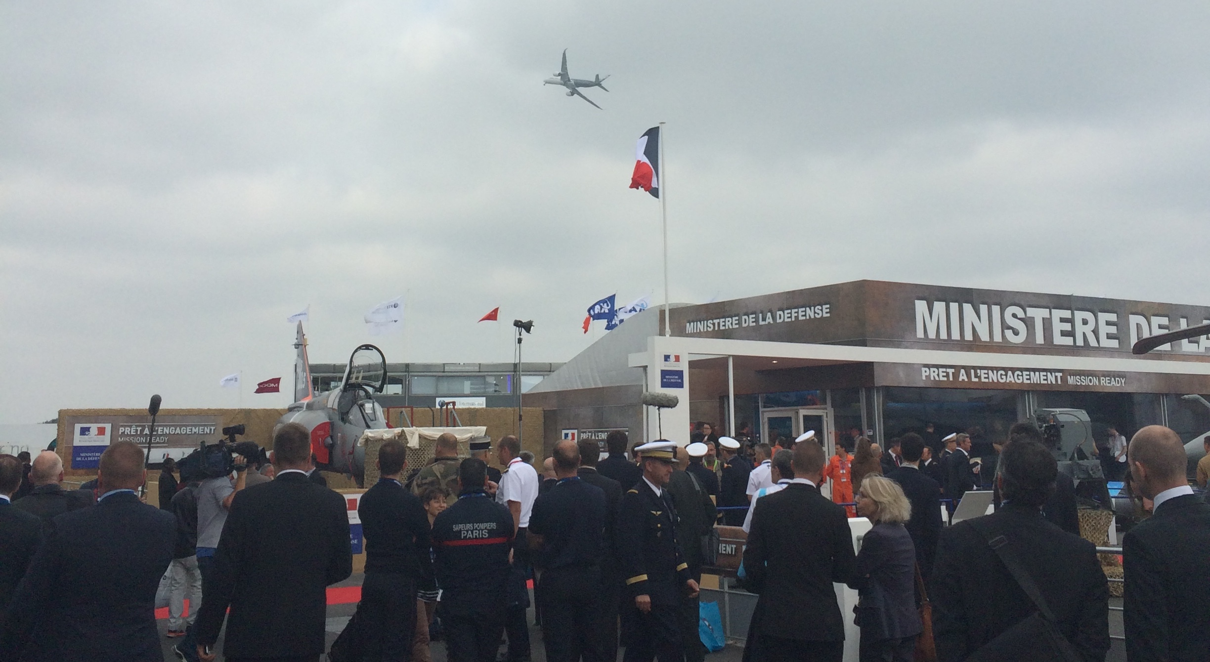 Media Coverage of Project 3DC2 at Paris Air Show 2015